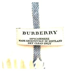 Burberry Summer/Spring  Scarf